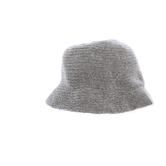 August Hat Company August Hats Chenille Cloche Hat Gray Image 2