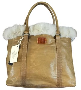 Falor Tote in tan, cream
