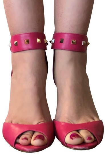 Preload https://img-static.tradesy.com/item/24488662/valentino-pink-leather-rockstud-peep-toe-ankle-strap-zip-up-heels-385-pumps-size-us-85-regular-m-b-0-4-540-540.jpg