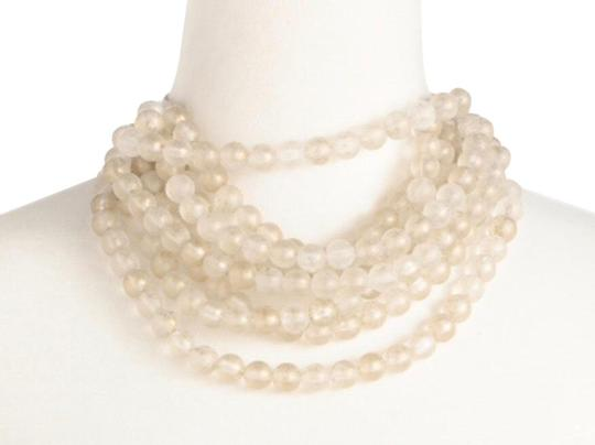 Preload https://img-static.tradesy.com/item/24488668/clear-with-gold-specks-bella-necklace-0-9-540-540.jpg
