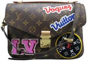 Louis Vuitton Lv Metis Pochette Canvas Monogram Shoulder Bag