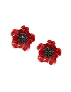 Kate Spade Kate Spade Red Poppies Earrings NWT