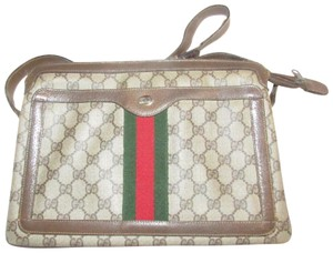 Gucci Accordion Bottom Multiple Compartment Accessory Col Mint Condition Shoulder Bag