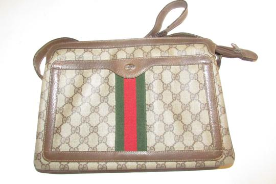 Gucci Accordion Bottom Multiple Compartment Accessory Col Mint Condition Shoulder Bag Image 6