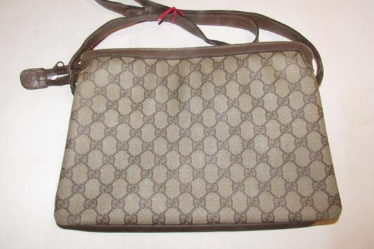 Gucci Accordion Bottom Multiple Compartment Accessory Col Mint Condition Shoulder Bag Image 8