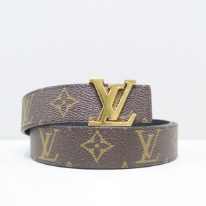 Louis Vuitton Louis Vuitton Initials Monogram 85/34 Belt