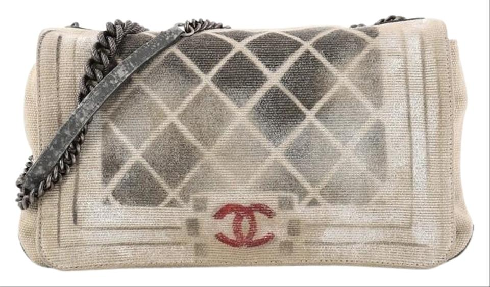 dce3489ad09244 Chanel Art School Boy Graffiti Oh My Boy Shoulder Bag Image 11.  123456789101112