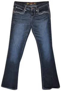 Maurices Stretch Low Rise Boot Cut Jeans