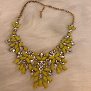 BaubleBar BaubleBar Yellow and Crystal Statement Necklace