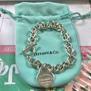 Tiffany & Co. Toggle Clasp-with classic Heart Charm