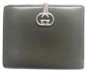 Gucci GG Clasp Leather Wallet
