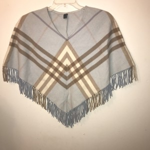 Burberry Blue Label Nova Check V-neck Onesize Cape