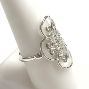 Tiffany & Co. GORGEOUS!! Tiffany & Co. Venezia Golding Quadruplo Sterling Silver Ring Sterling Silver Size 7.75 100% Authentic Guaranteed!! Comes with Tiffany Pouch and Tiffany Blue Colored Polishing Cloth!!!