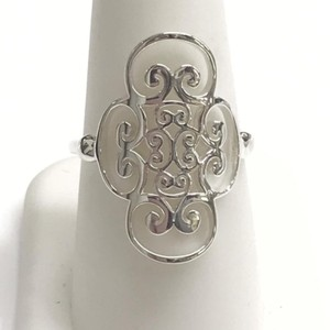Tiffany & Co. GORGEOUS!! Tiffany & Co. Venezia Golding Quadruplo Sterling Silver Ring Sterling Silver Size 7.5 100% Authentic Guaranteed!! Comes with Tiffany Pouch and Tiffany Blue Colored Polishing Cloth!!!
