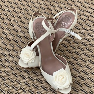 Vince Camuto Soft White Platforms Size US 8 Regular (M, B) - item med img