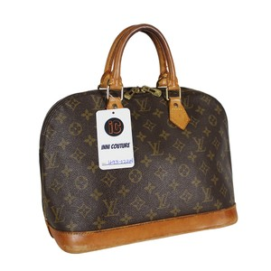 Louis Vuitton Speedy Monogram Alma Purse Tote in brown