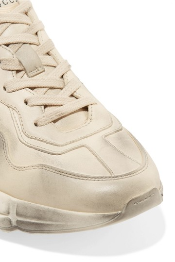Gucci Leather Sneaker Athletic Image 1