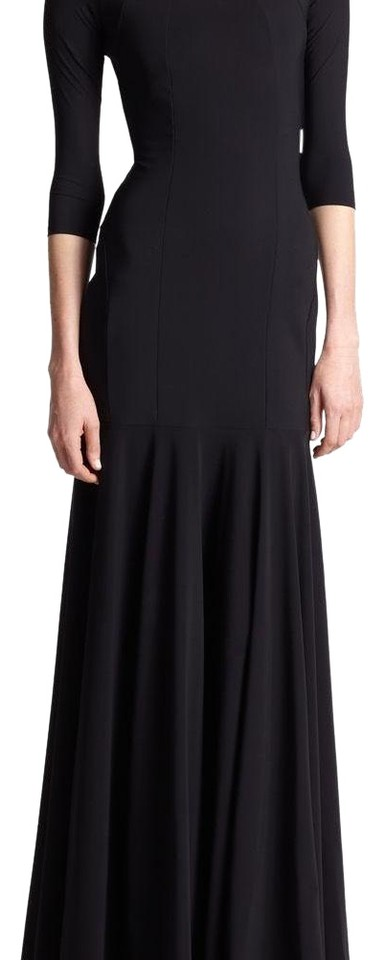 La Petite Robe di Chiara Boni Black Women s Estelle Off-the-shoulder Gown  Formal Dress 0146a42d9