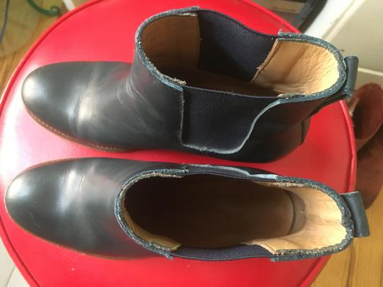 A.P.C. Navy Boots Image 1