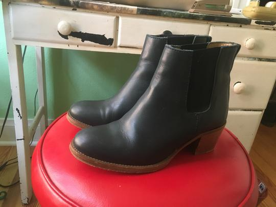 A.P.C. Navy Boots Image 2
