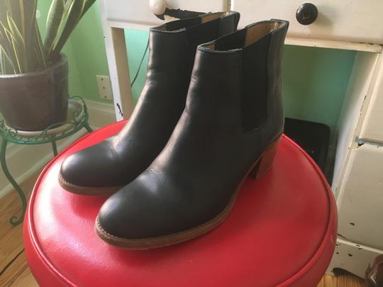 A.P.C. Navy Boots Image 3