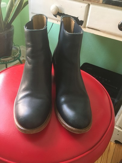 A.P.C. Navy Boots Image 4