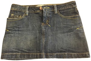 Seven7 Mini Skirt Denim