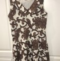 MILLY short dress brown and white on Tradesy Image 1