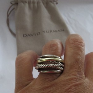 David Yurman Crossover Collection SS/14k Smooth and Twisted Cable