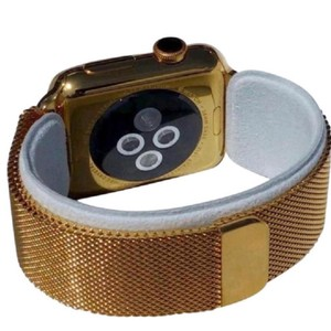 Apple 24k Gold Plated over Stainless Steel 42mm Watch