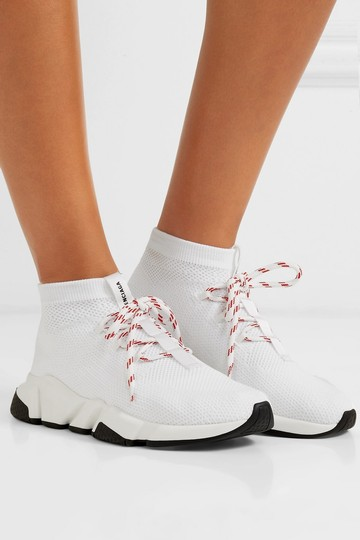 Balenciaga Speed Sneaker Sneakers High Top white Athletic Image 3