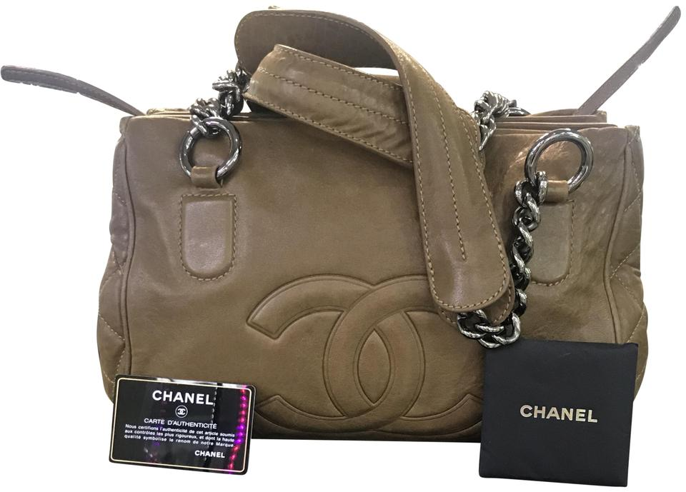 03f6901aceeb Chanel Perfect Day Tote Brown Leather Shoulder Bag - Tradesy