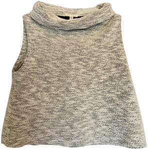 Eileen Fisher Chenille Vest Organic Cotton Sweater