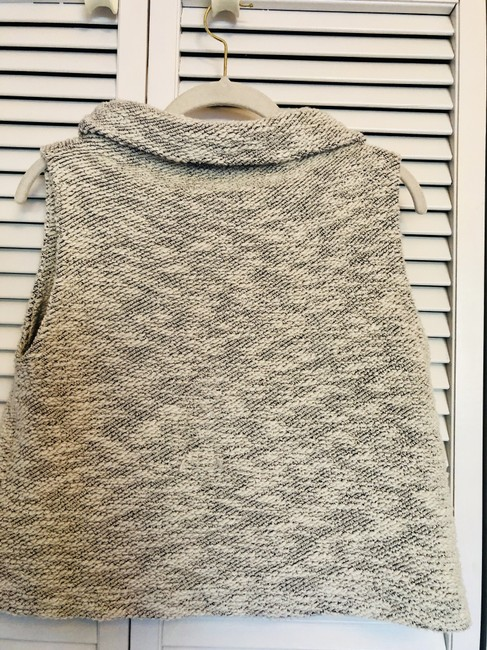 Eileen Fisher Chenille Vest Organic Cotton Sweater Image 1