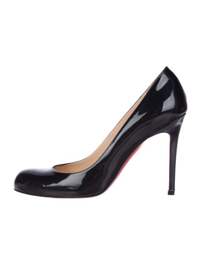 Christian Louboutin Simple Heels BLACK Pumps Image 1
