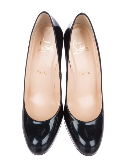Christian Louboutin Simple Heels BLACK Pumps Image 2