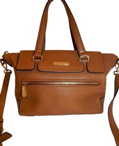 Michael Kors Luggage Leather Convertible Tote in Brown