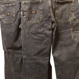 Wrangler Boys Youth Husky Carpenter Denim Boot Cut Jeans-Medium Wash