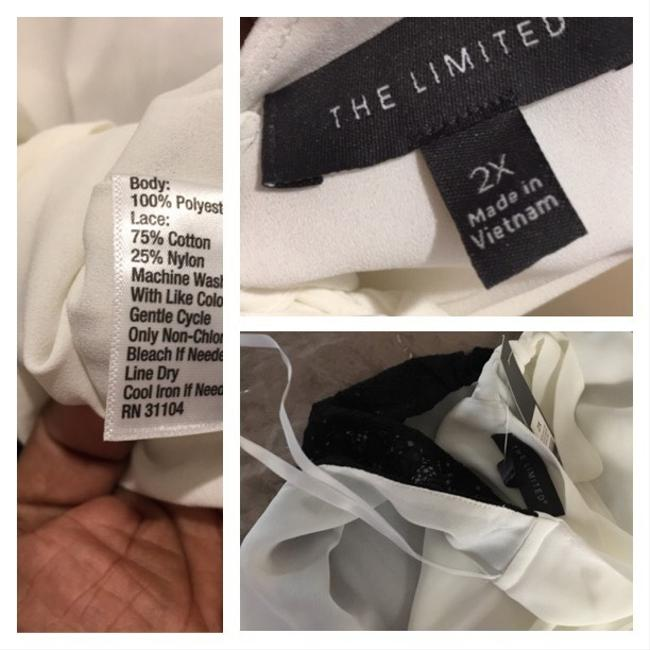 The Limited Top Black/marshmallow beige or off white Image 10