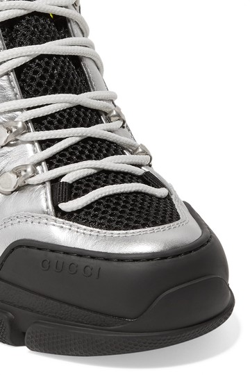 Gucci Sneaker Leather Flashtrek Dad Style Athletic Image 4