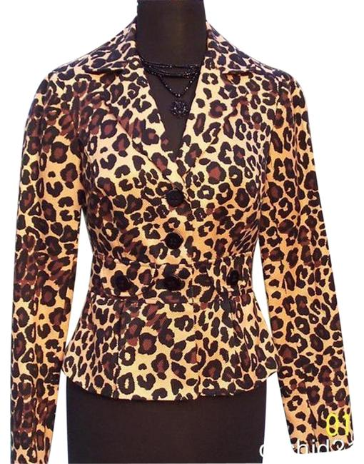 Preload https://img-static.tradesy.com/item/24491150/cache-multi-color-silk-congo-animal-print-lined-jacket-top-new-xs-blazer-size-2-xs-0-3-650-650.jpg