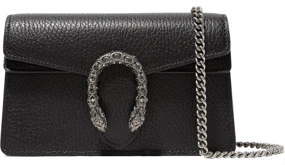 1e04f6e3cdc9 Gucci Shoulder Dionysus Super Mini Textured-leather Leather and ...