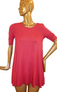 Free People short dress Red Baby Doll Stretchy on Tradesy