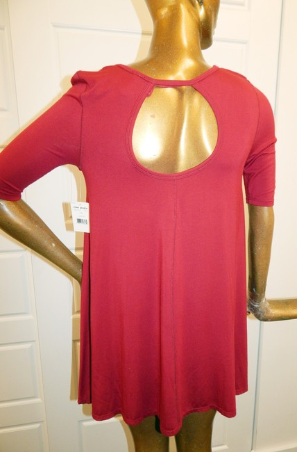 Free People short dress Red Baby Doll Stretchy on Tradesy Image 2