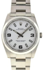 Rolex Rolex 114200 Oyster Perpetual Midsize Stainless Steel Automatic Watch