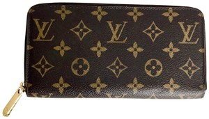 Louis Vuitton Monogram Zippy Compact Wallet '09