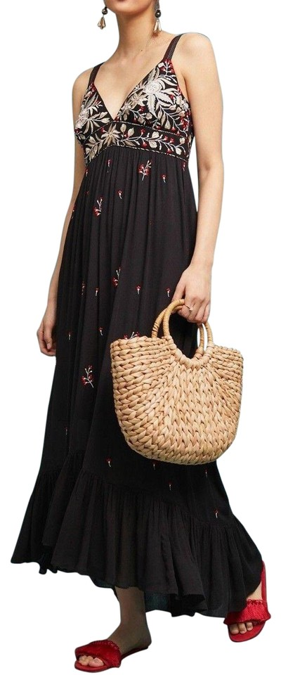 3d72c2314738a Anthropologie Multicolor Fiona Embroidered By Ranna Gill Long Casual ...