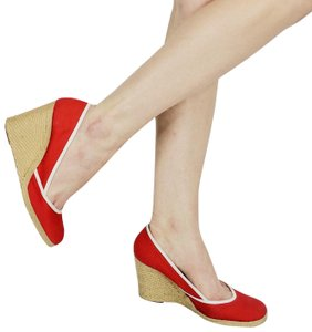 Sergio Rossi Red Wedges