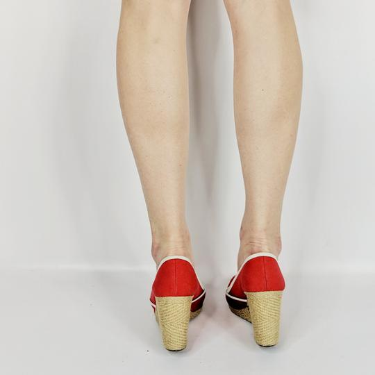 Sergio Rossi Red Wedges Image 4