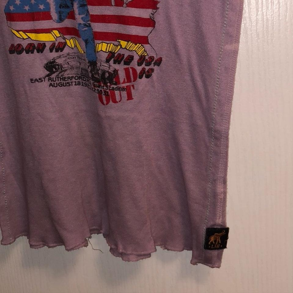 379c80f0bd7 Trunk Ltd Bruce Springsteen Born In The Usa Tank Top Cami Size 4 (S ...